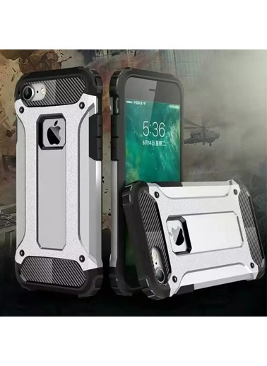 Microsonic iPhone 8 Kılıf Rugged Ar  Renkli